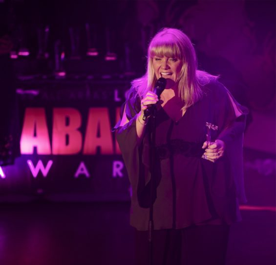 Alison Jiear. this year's Best Vocal Act at the London Cabaret Awards 2015. Image (c) Lisa Thomson