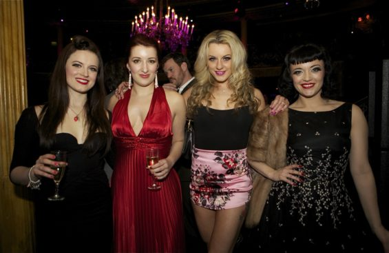 The Folly Mixtures at the London Cabaret Awards 2015. Image (c) Lisa Thomson