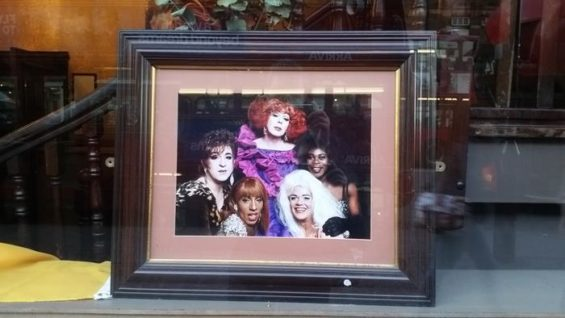 Legends of The Black Cap seen in the window. Image: Franco Milazzo for This Is Cabaret