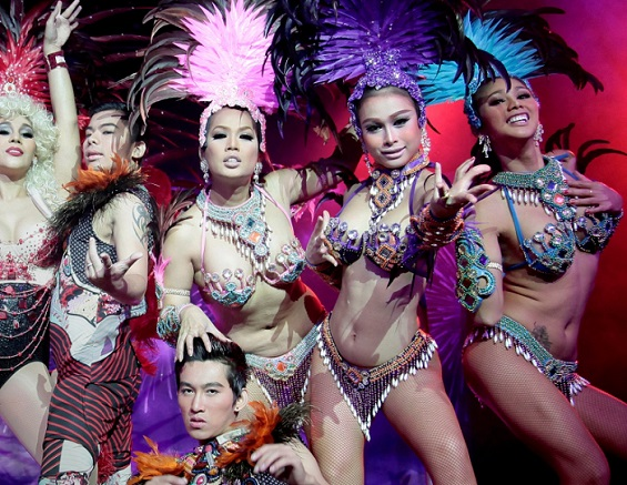 Review: The Lady Boys Of Bangkok's Beauties And The Beats