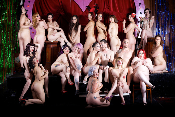 Wanted: Naked Cabaret Crew For Cancer Charity Calendar Shoot