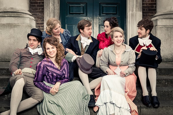 Review: Austentatious: An Improvised Jane Austen Novel, Udderbelly