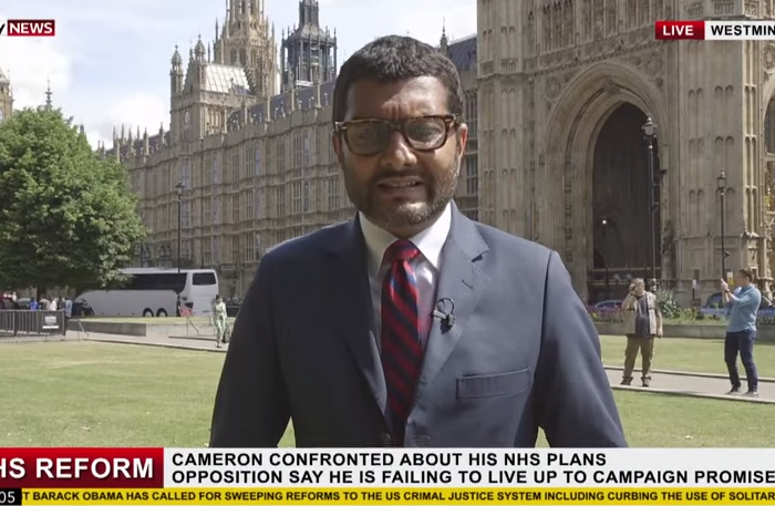 Young and Strange video-bomb SKy News