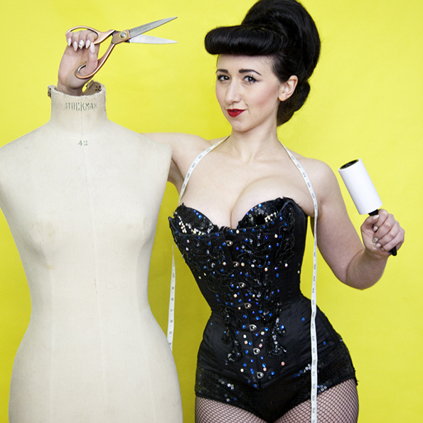 Netflix, Kimble Guns and Wetherspoons: Elsie Diamond Reveals her Burlesque Costuming Secrets
