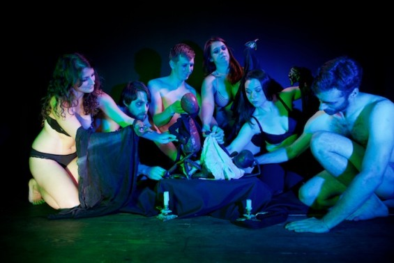 Flabbergast Theatre for the All Nude Cabaret Calendar 2016. Photo by Sin Bozkurt©