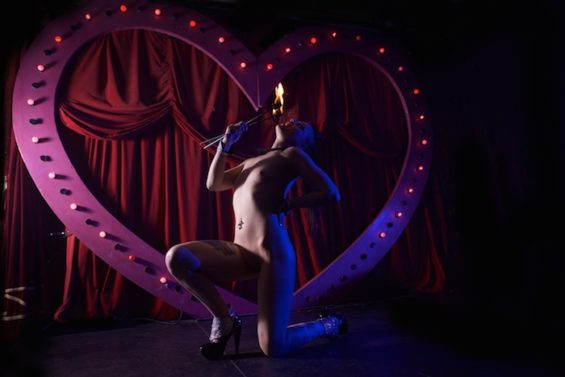 Snake Fervor for the All Nude Cabaret Calendar 2016. Photo by Sin Bozkurt©
