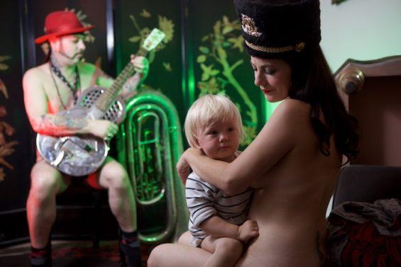 Urban Voodoo Machine for the All Nude Cabaret Calendar 2016. Photo by Sin Bozkurt©