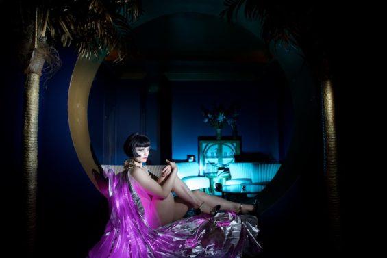 Vicky Butterfly for the All Nude Cabaret Calendar 2016. Photo by Sin Bozkurt©