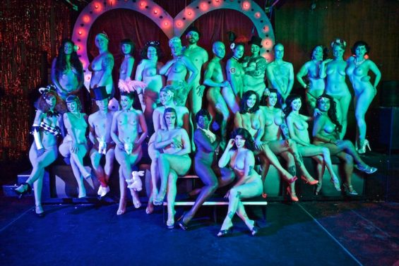 The All Nude Cabaret Calendar 2016 launches this Sunday. Photo by Sin Bozkurt©