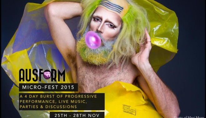 Ausform Micro-Fest runs 25-28 November in Bristol. Photo: Maxi More by Indrek Galetin