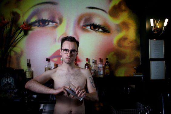 Laurence Owen for the All Nude Cabaret Calendar 2016. Photo by Sin Bozkurt©