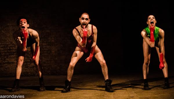 Live dance theatre performance at The Vaults