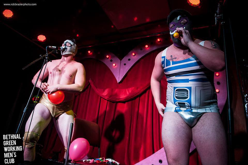 May The Farce Be With You, Bethnal Green Working Men's Club.  Photo credit: www.RobBrazier.com