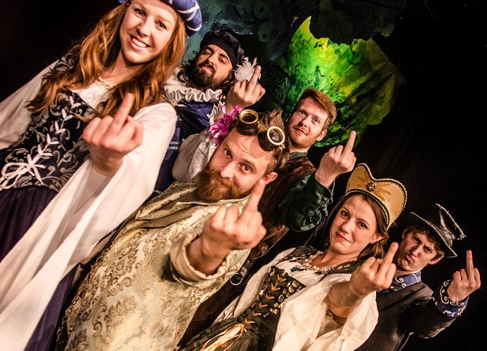 Shit-Faced Shakespeare: Midsummer Night's Dream ©Rah Petherbridge Photography -the cast_1