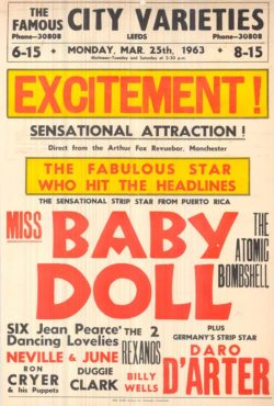 Excitement Playbill - Credit Leeds Library and Information Service www.leodis.net (forward slash) playbills