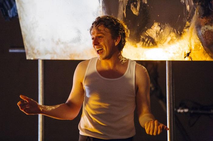 Jack Wilkinson in <em>Dream Play</em> (The Vaults, until 1 October 2016).