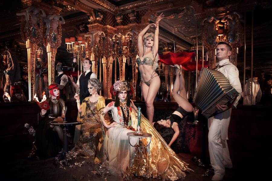 The award-winning Black Cat Cabaret crew. Image: Black Cat Cabaret