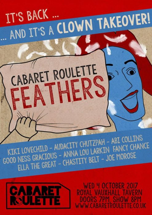 Cabaret Roulette: Feathers